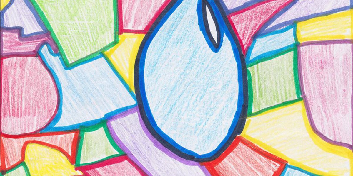 Young IL artist earn for schools with 'Imagine a Day Without Water' art contest