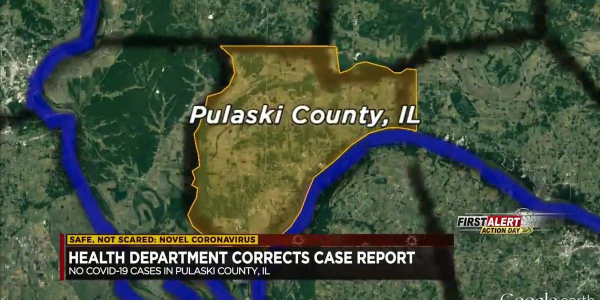 Health Department corrects case reports