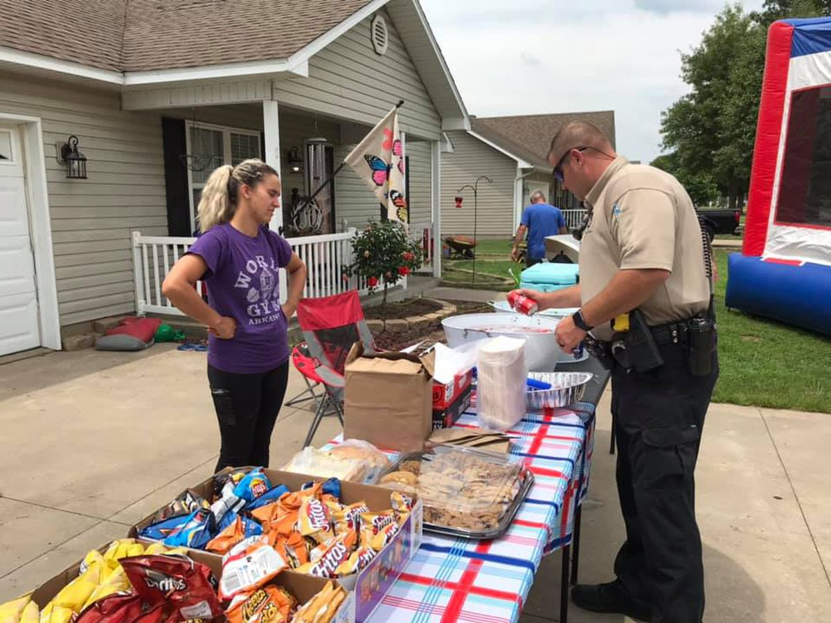 Family in Miner feed first responders to show appreciation