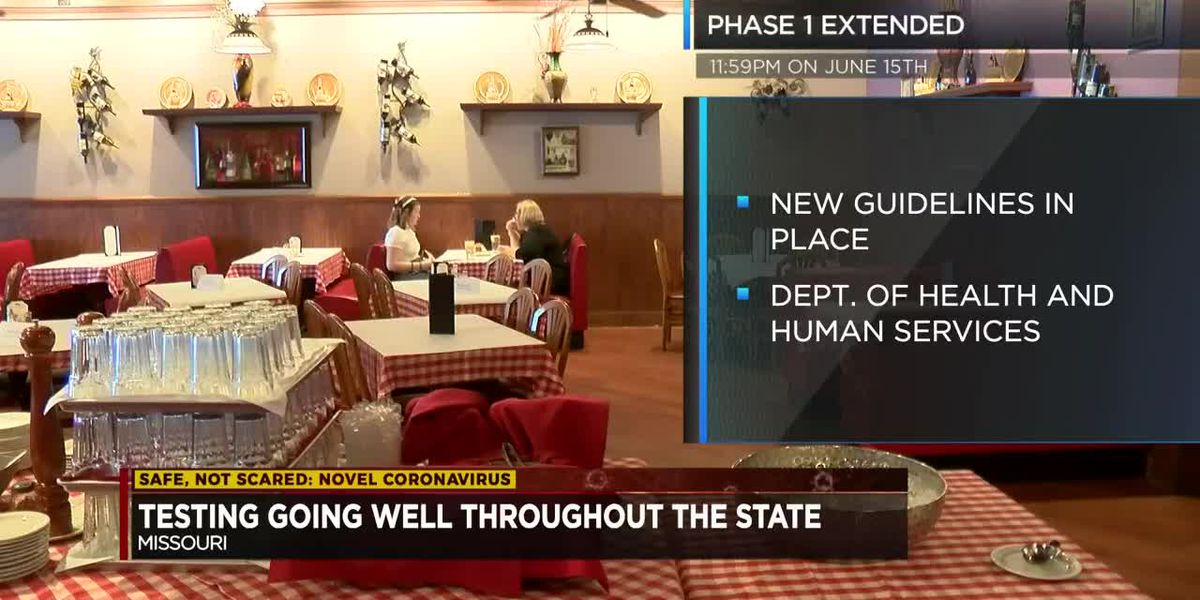 """Phase 1 of """"Show Me Strong Recovery"""" plan extended in Missouri"""