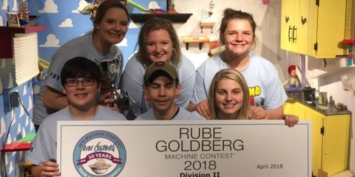 Heartland school students place third in National Rube Goldberg competition