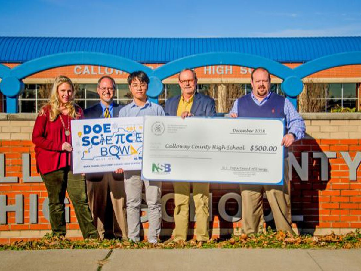 Calloway Co, KY student win DOE Science Bowl t-shirt design contest