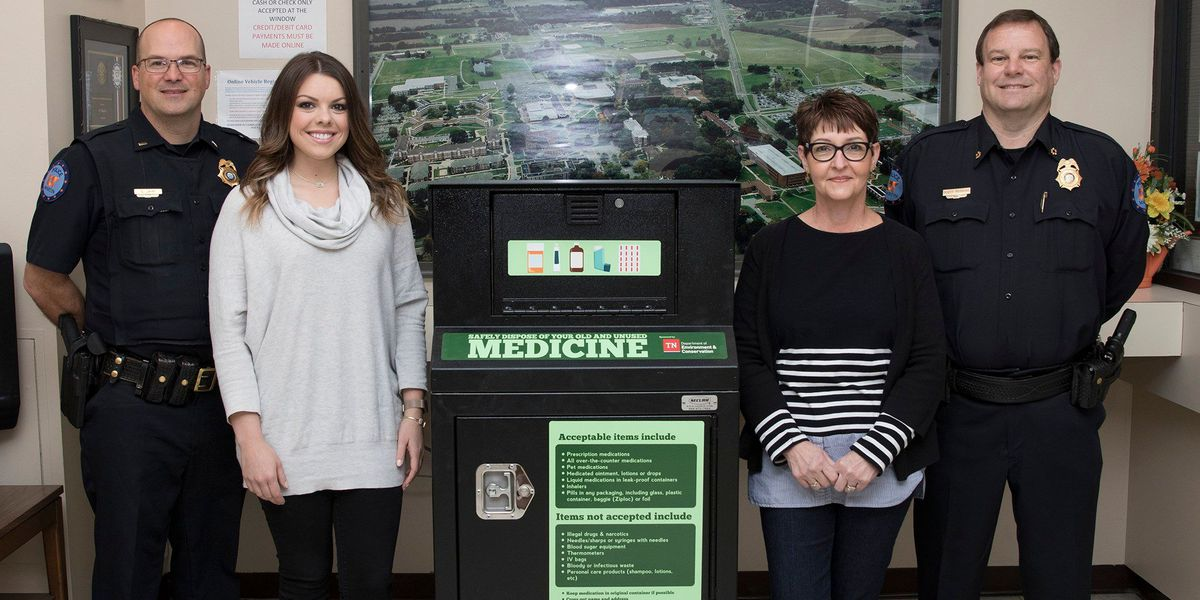 UT Martin campus has drug take-back box