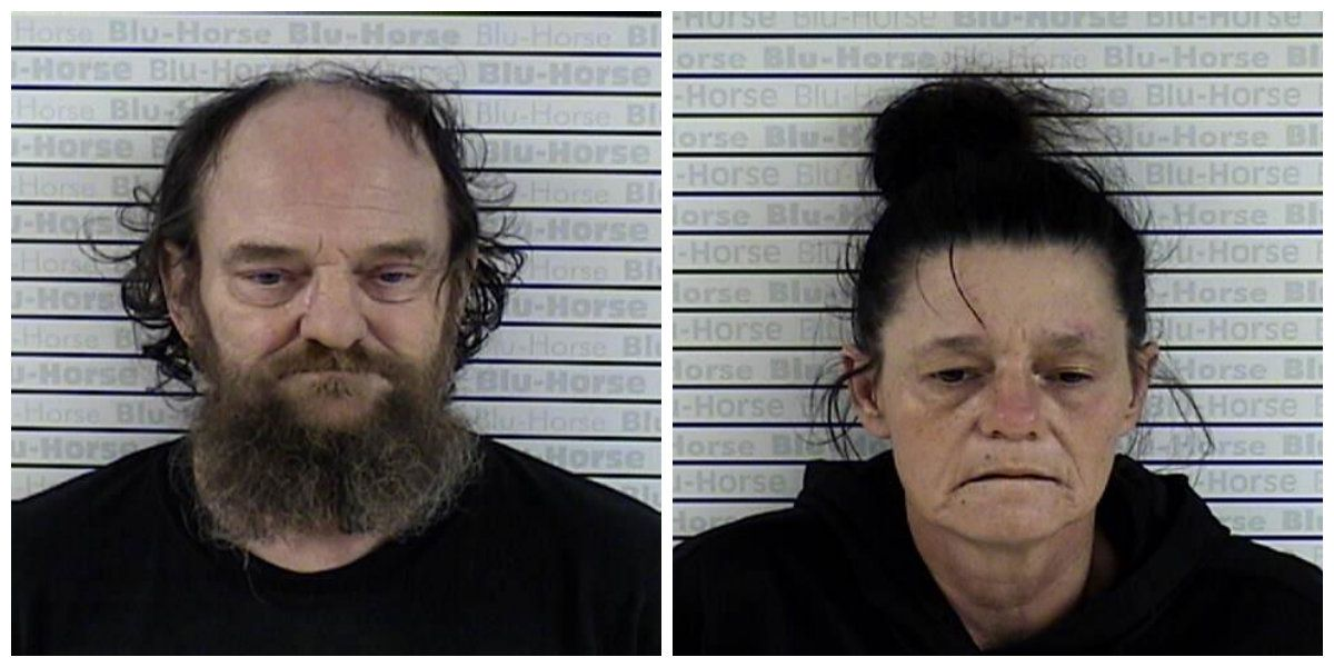2 arrested on meth charges after warrant search
