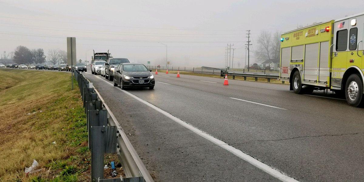 Investigators: wet weather likely contributed to crash on I-55 near Scott City, MO