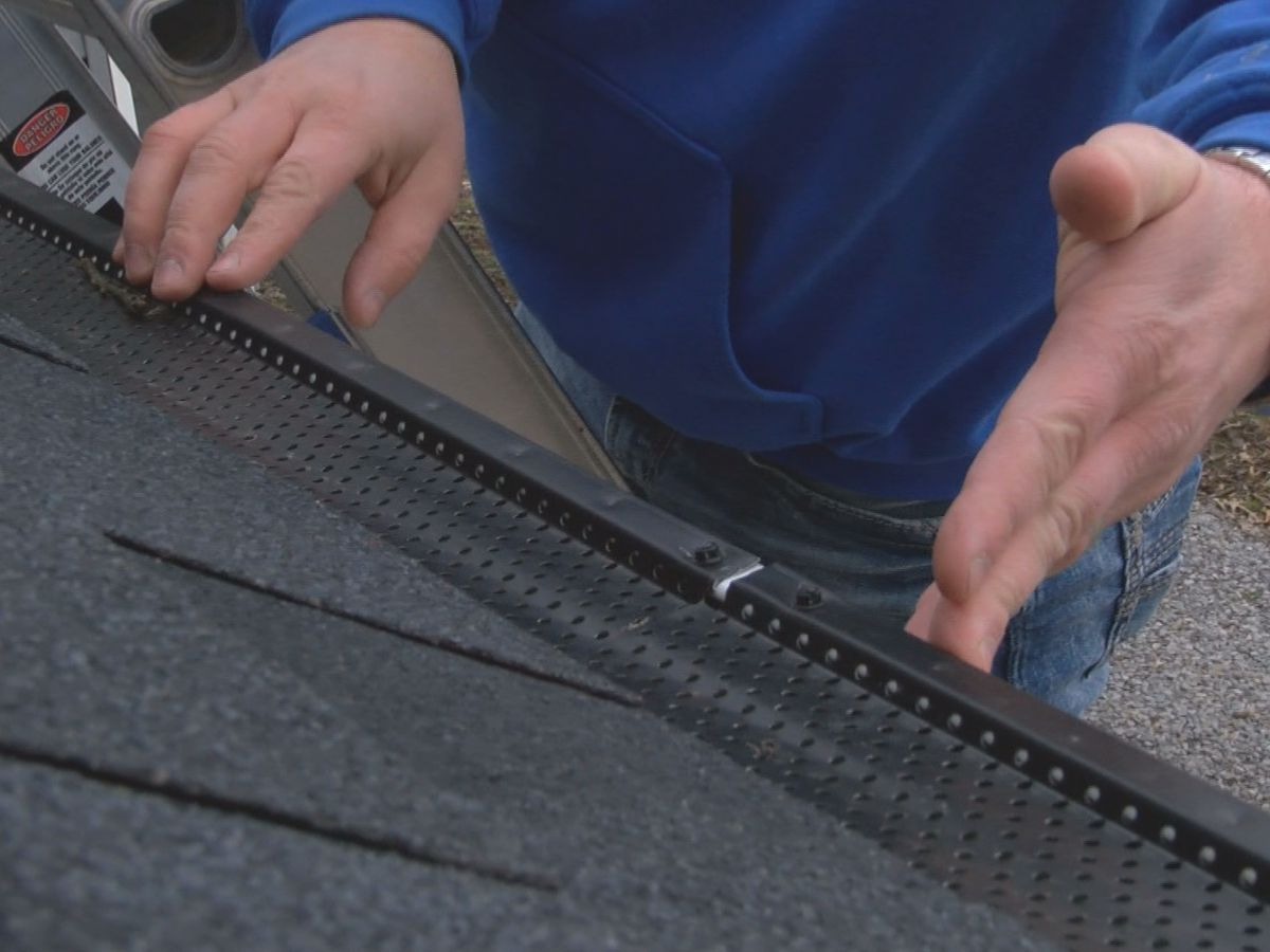 Winter weather can cause strain on gutters