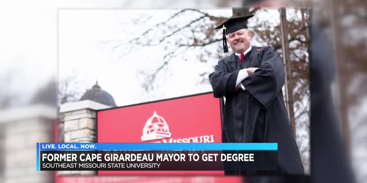 Former Cape Girardeau mayor to get degree