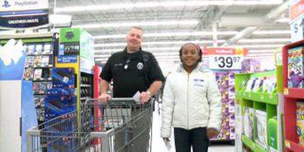 Shop with a Hero brings early Christmas to kids in need