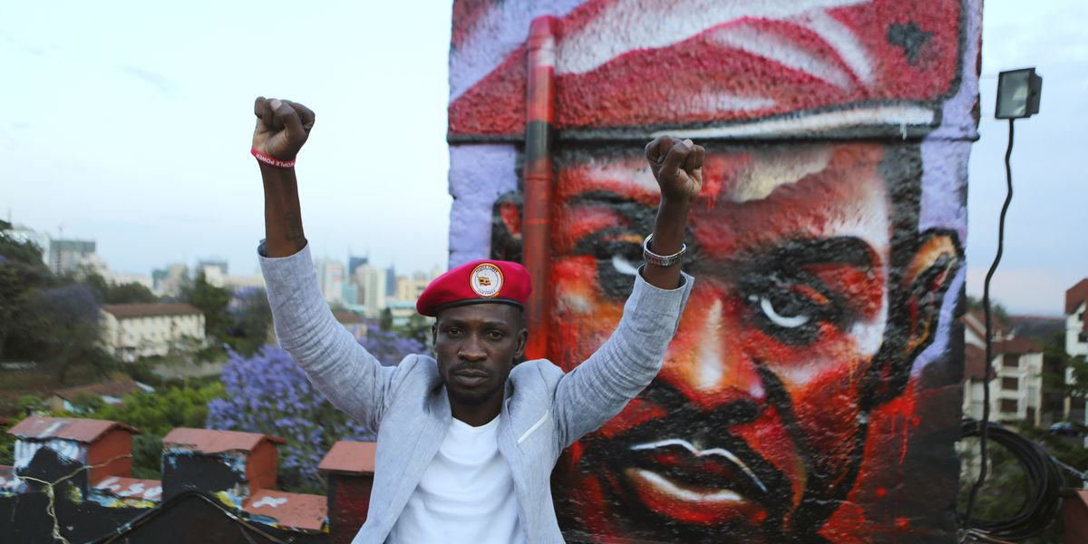 Ugandan pop star-politician performs 1st show since jailing
