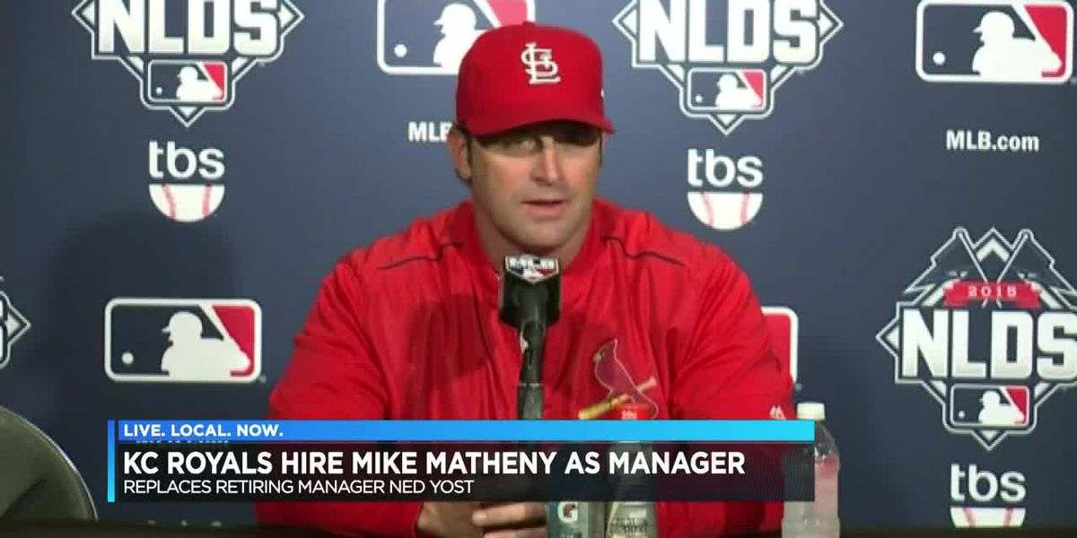 Mike Matheny named Kansas City Royals Manager