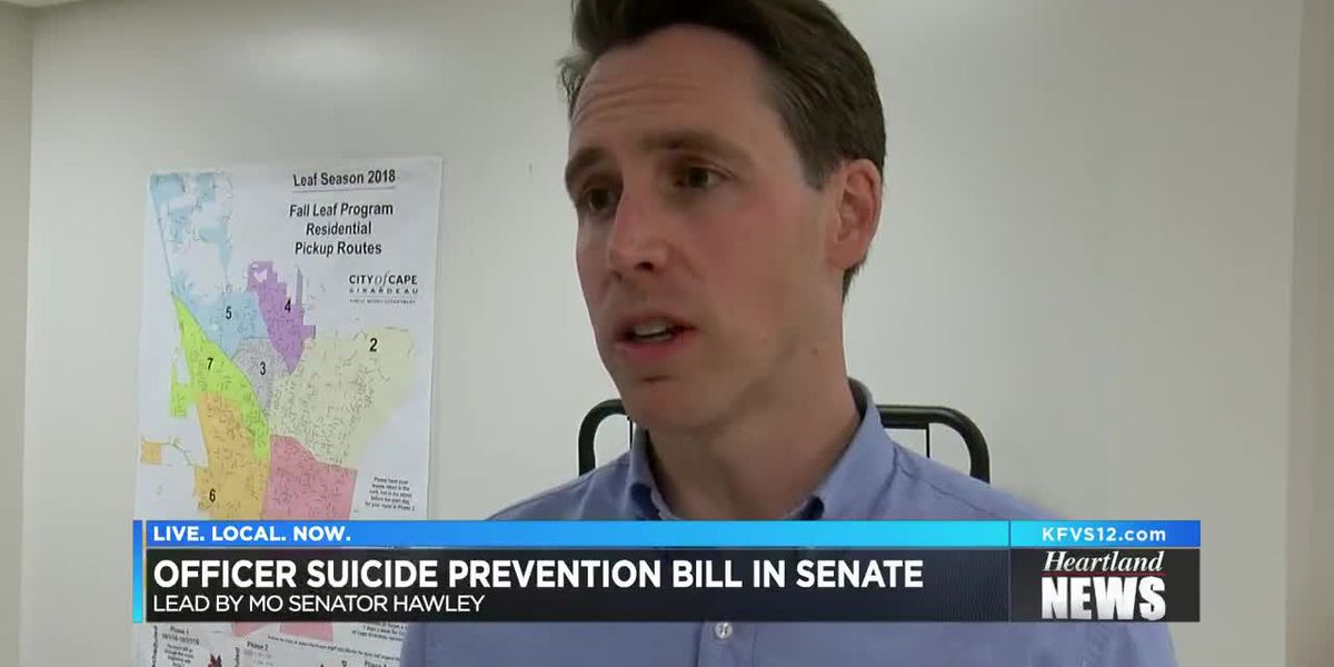 Police officer suicide prevention bill