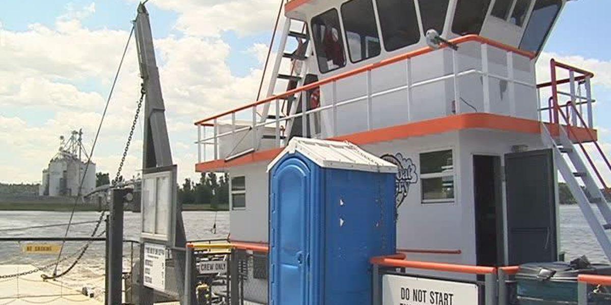 Dorena-Hickman Ferry closed for dredging work