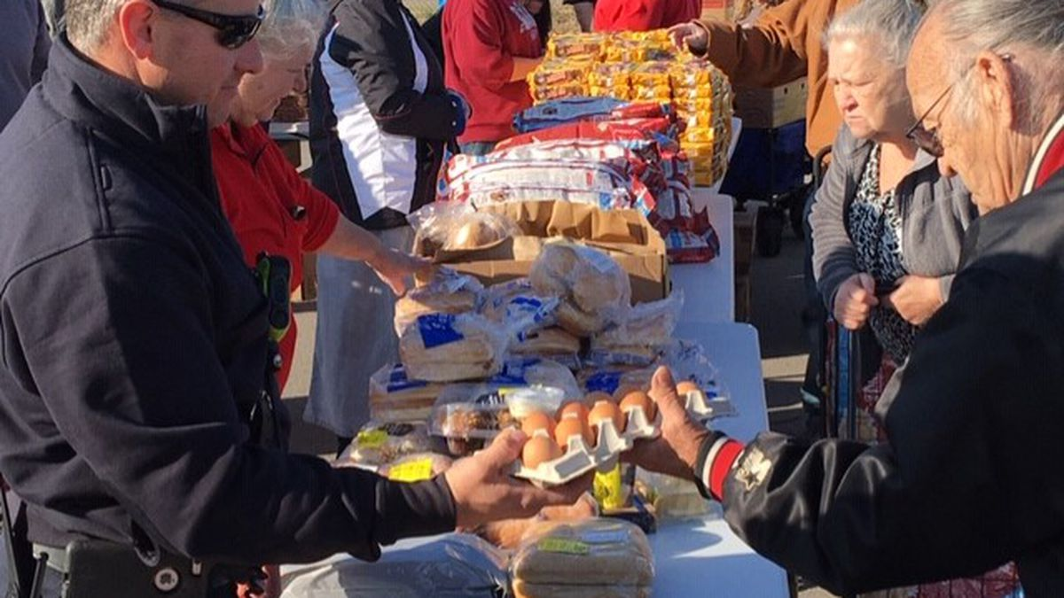 First responder organization helps feed those in need