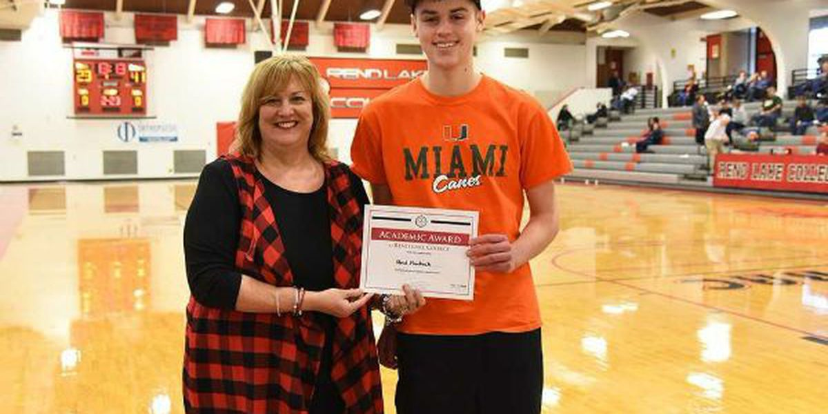 Thompsonville junior wins $1,500 college credit RLC Warrior Superfan Challenge