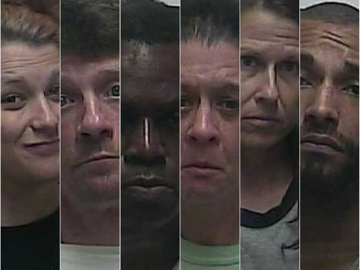 Weakley Co., TN officials arrest 6 on drug related charges