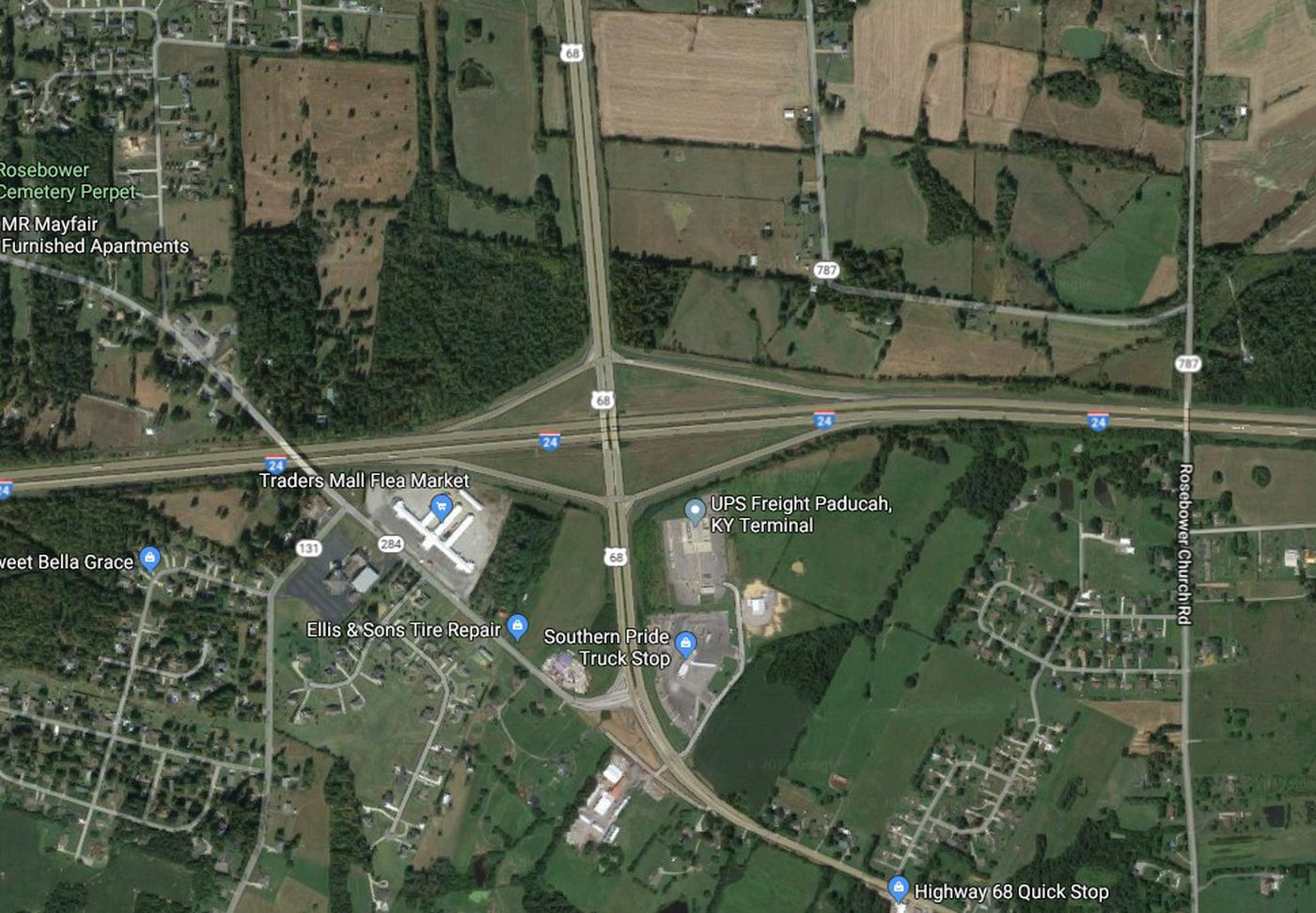 I-24 lanes are back open after multi-vehicle crash on indiana road map, religion percentages in ohio map, westeld in map, interstate 75 map, kentucky county population density map, chicago il to munster indiana map,