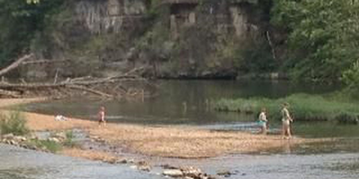 2 injured after jumping off of bluff into Big River