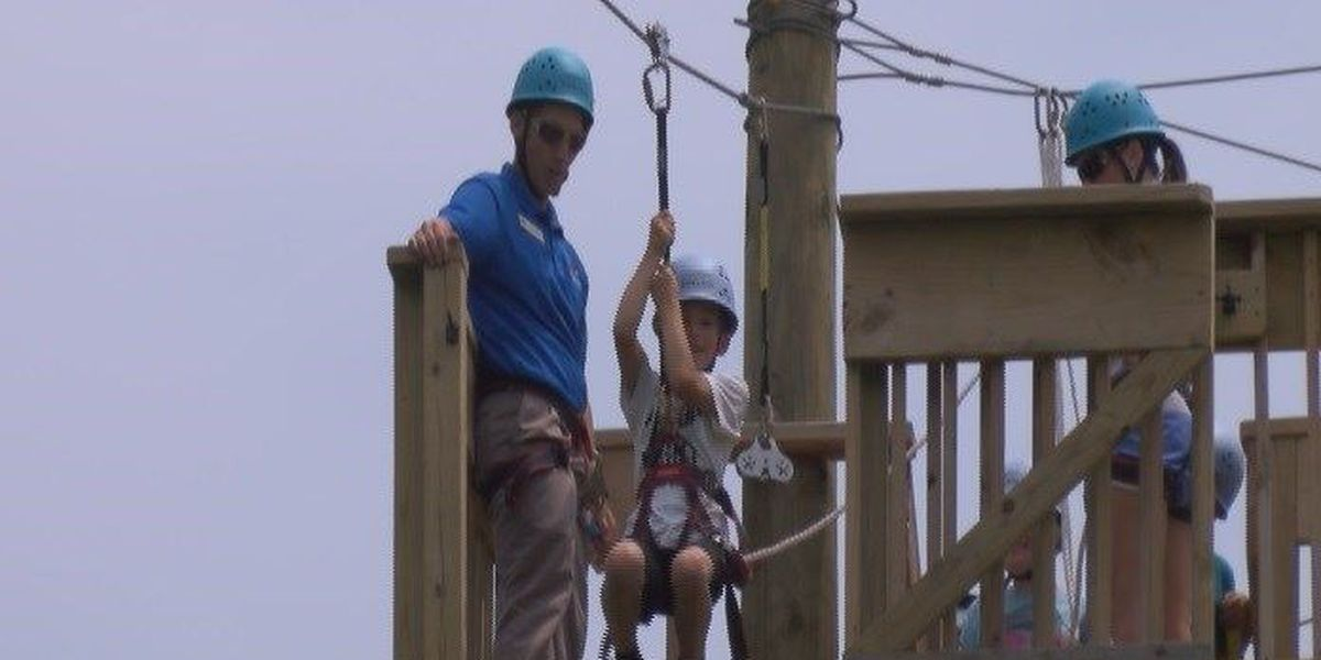 Southeast highlights new ropes course