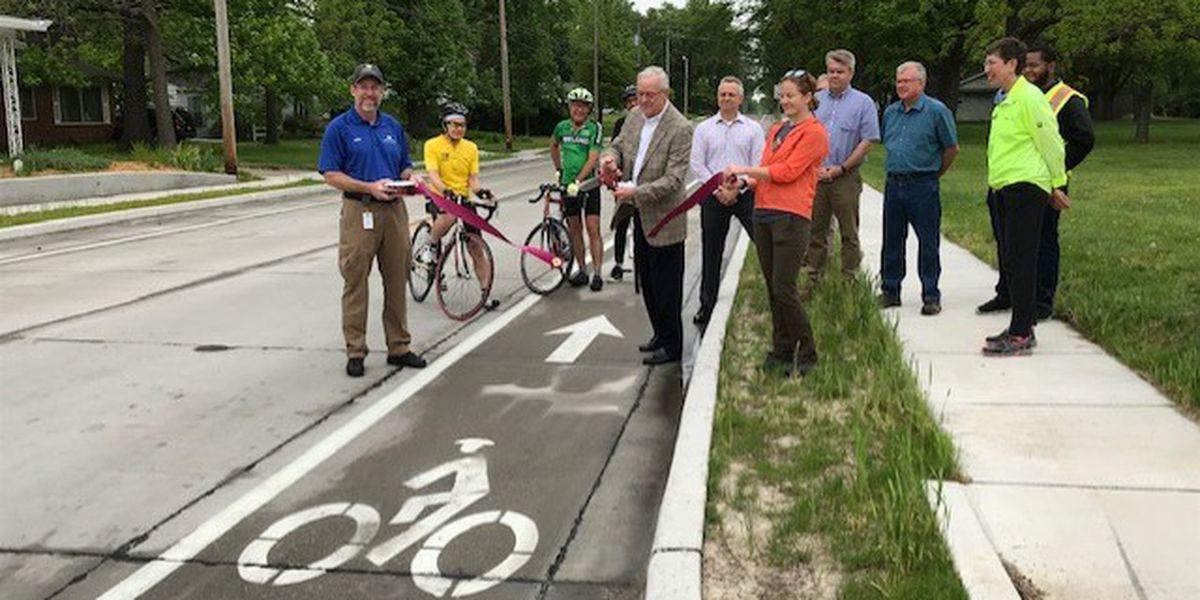 Ribbon cutting kicks off Bike to Work Week in Carbondale