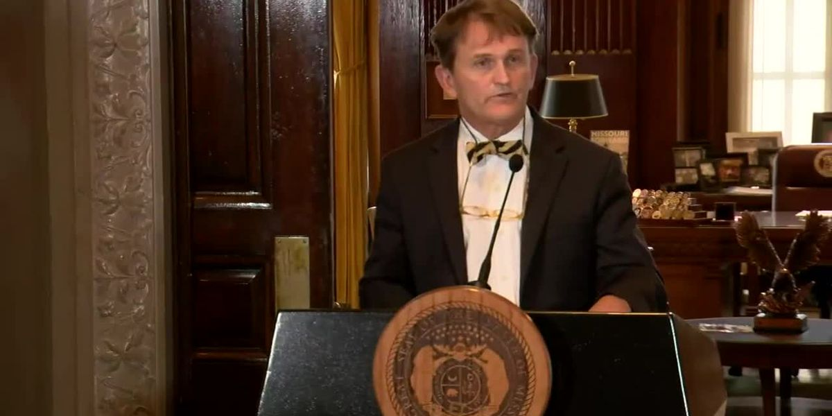 RAW VIDEO: News conference on Mo. governor, first lady testing positive for COVID-19