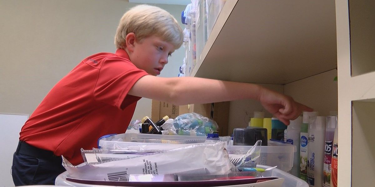 10-year-old Cape Girardeau boy pays it forward through non-profit 'Granting Grace'