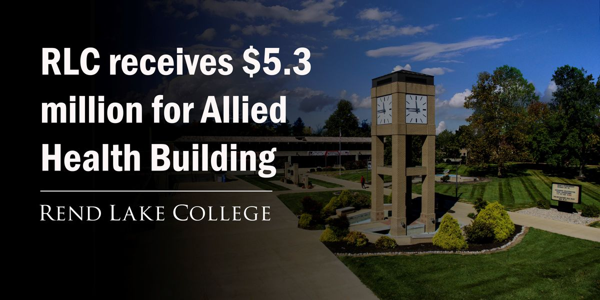Rend Lake College receives $5.3M for new Allied Health building