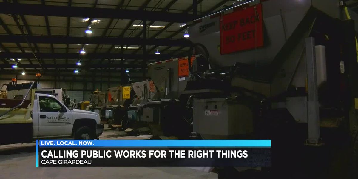 Calling public works for the right things