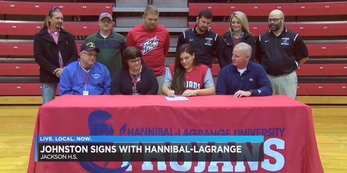 Jackson, MO senior signs with Hannibal-LaGrange