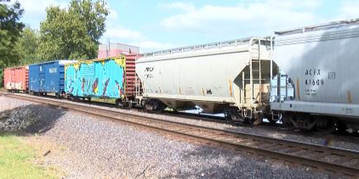 MoDot educates the public about train safety during Rail Safety Week