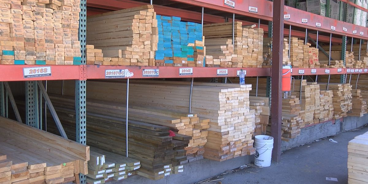 Lumber shortage due to COVID-19 affecting business