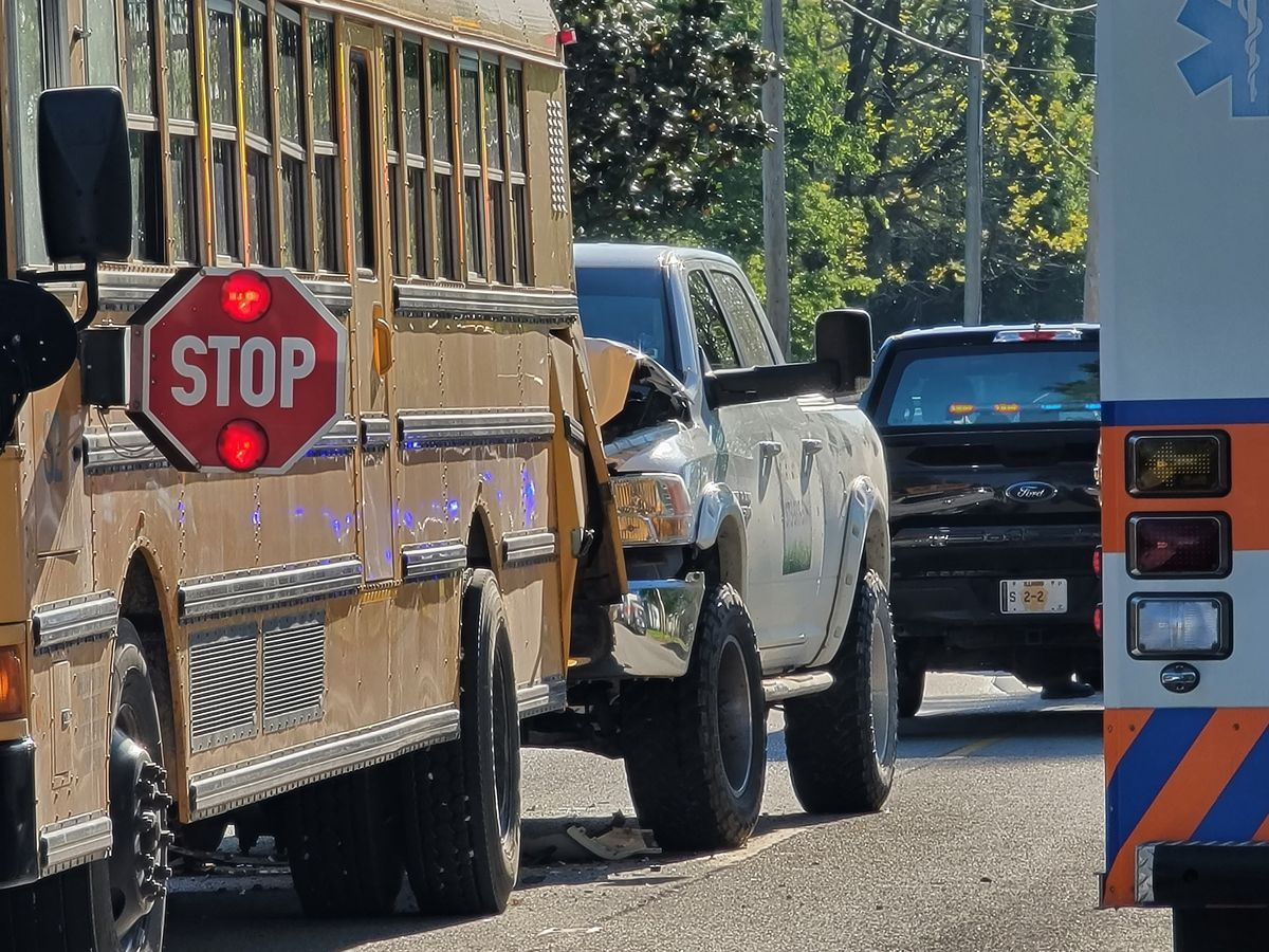 Mom urges drivers to slow down, pay attention after school bus crash in McClure, Ill.