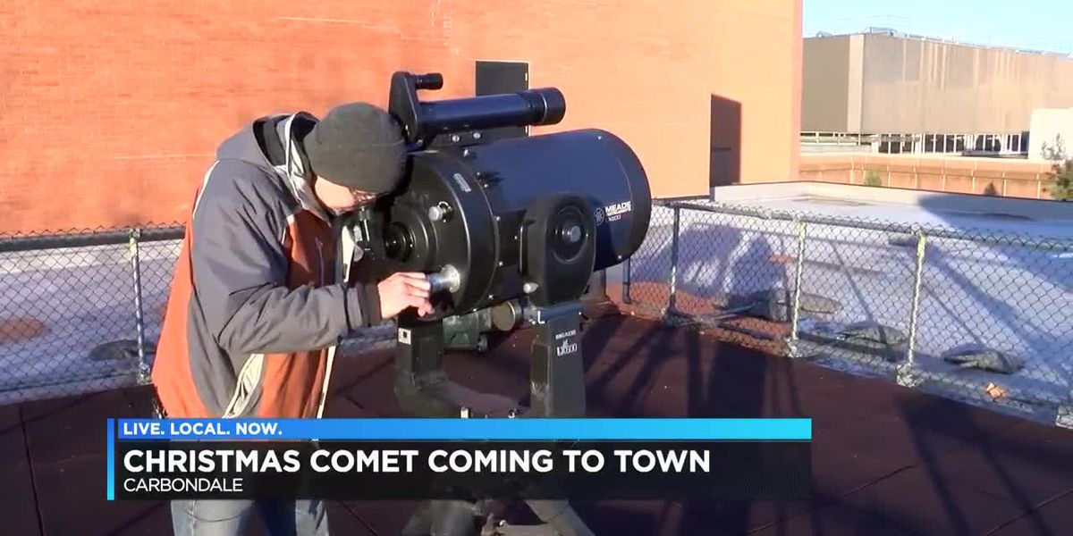 """Christmas Comet"" heading near earth"