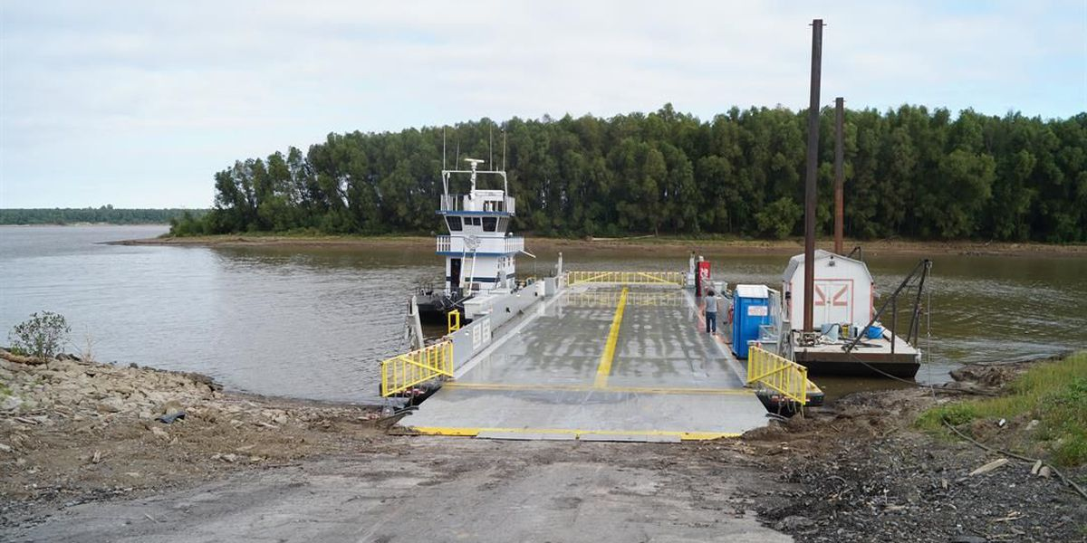 Dorena-Hickman Ferry closed due to dredging in Hickman Harbor