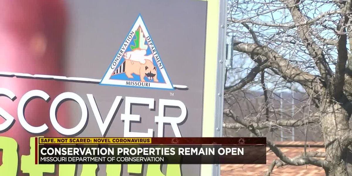 Mo. Dept. of Conservation properties remain open for activities