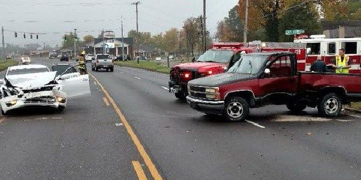 McCracken Co. crash sends 4 to hospital