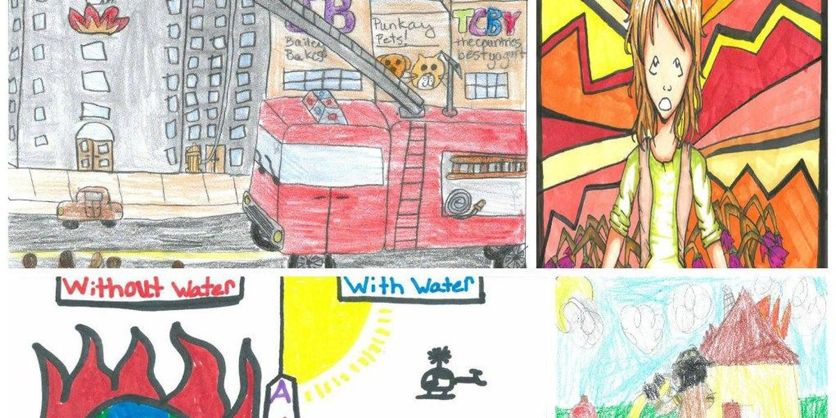 Winners announced for 'Imagine a Day Without Water' art contest