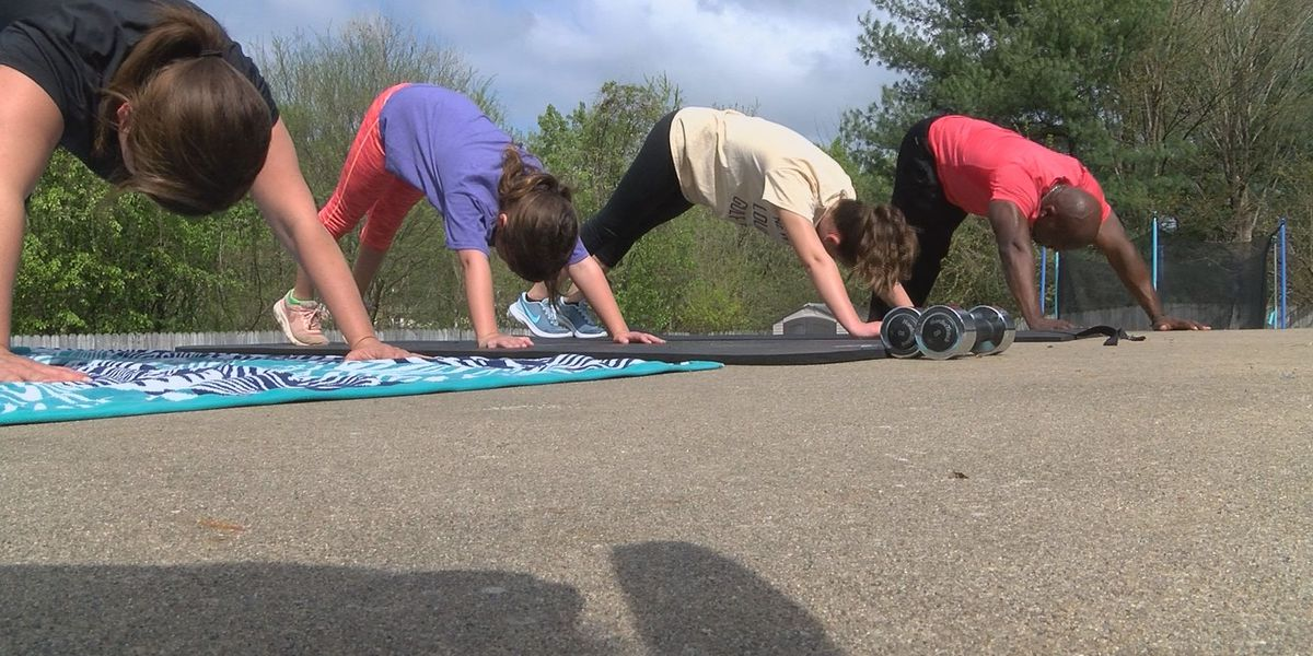 Backyard family fitness: Series of exercises to get you moving