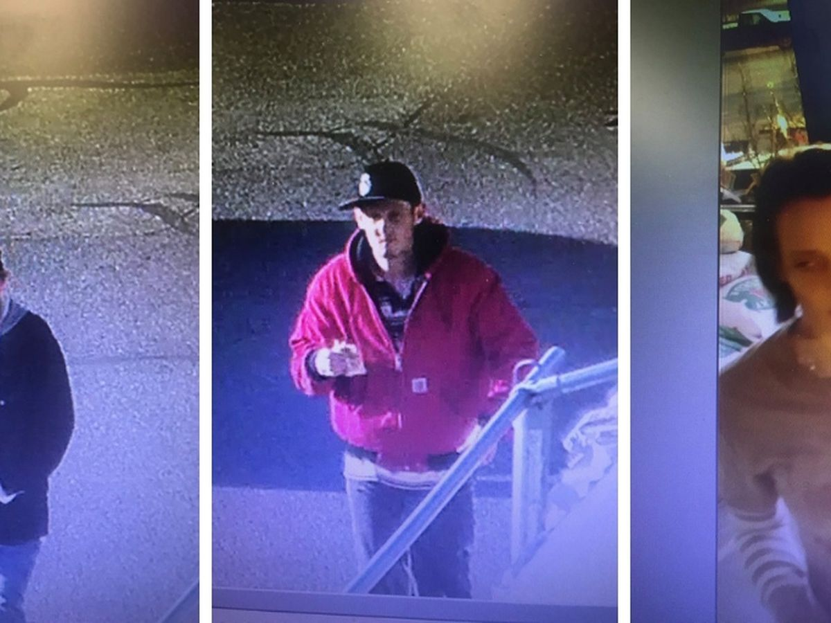 Jackson police looking for 2 men, woman in theft investigation