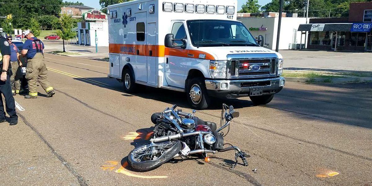 1 injured in motorcycle vs. Jeep crash in Martin, TN