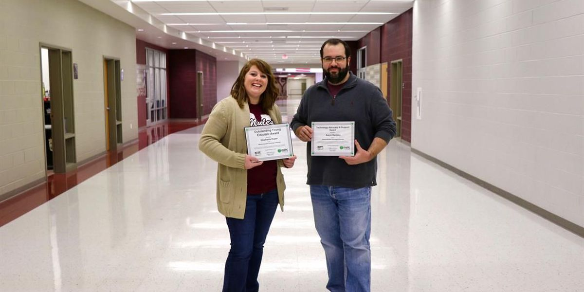 "Two Poplar Bluff, MO school employees are ""Making IT Happen"""