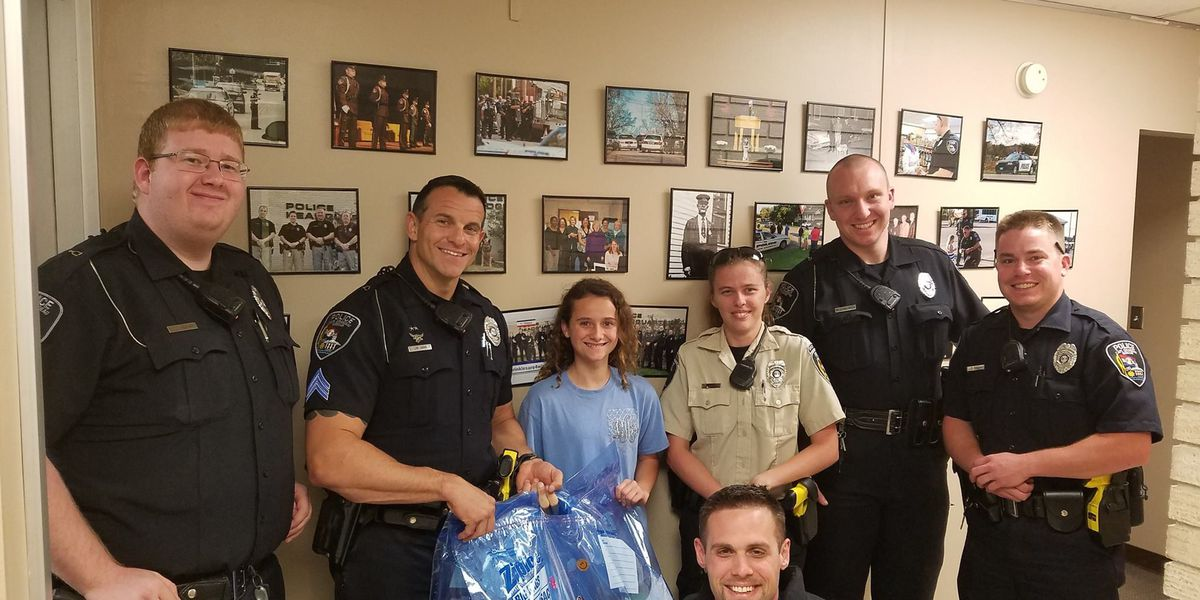 Police officer's daughter starts project to help kids impacted by domestic violence