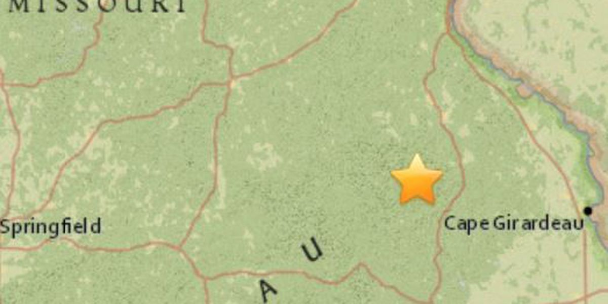 2.3 magnitude quake shakes parts of southeast MO