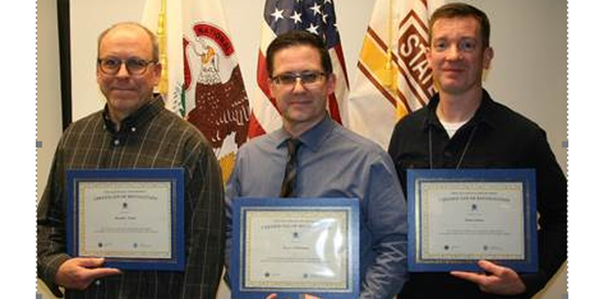 ISP forensic scientists honored for their role in catching violent offenders