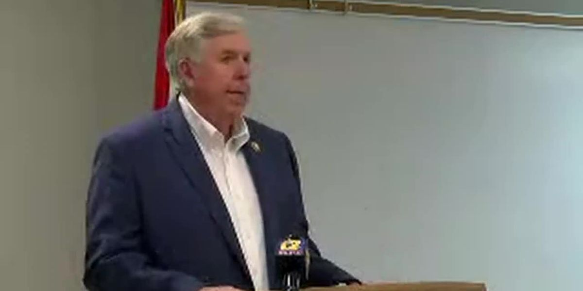 Gov. Parson signs 'Pretrial Witness Protection Services' bill in Jackson
