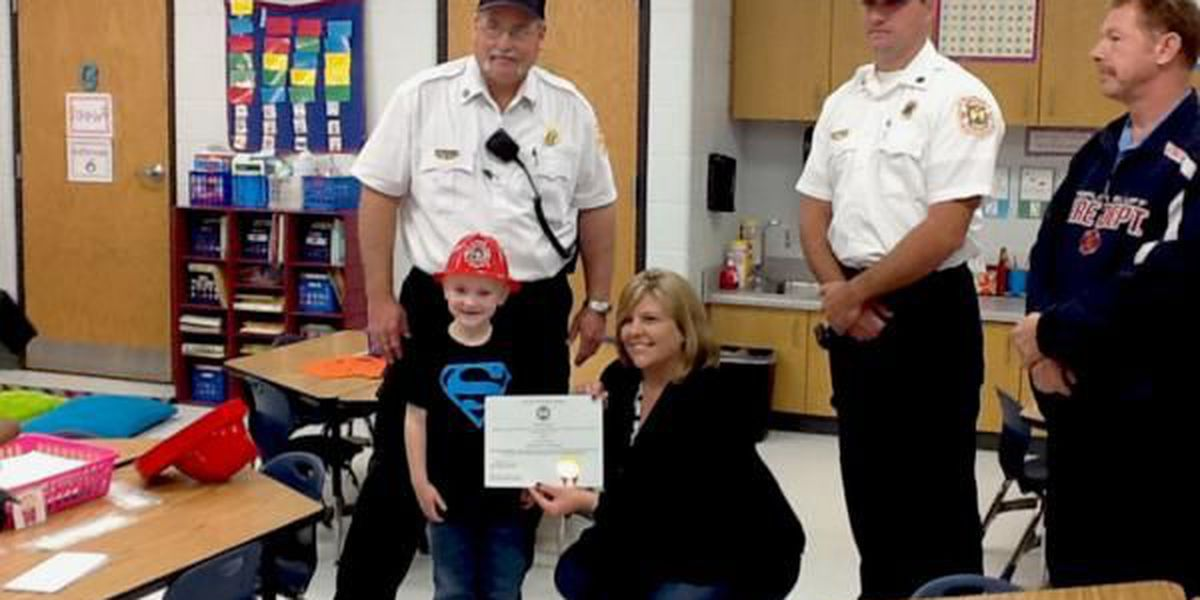 6 year old from Poplar Bluff saves family from fire