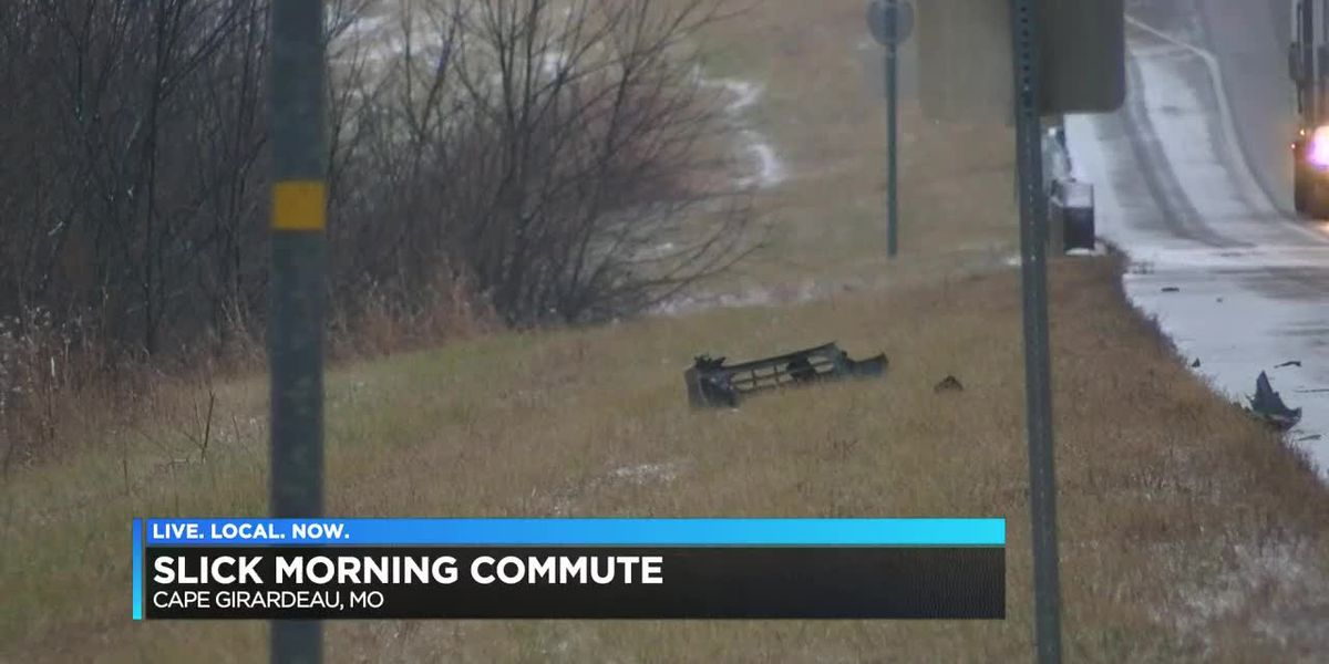 One injured in I-55 crash; icy conditions