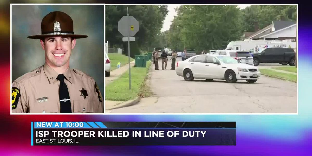 ISP trooper killed in the line of duty