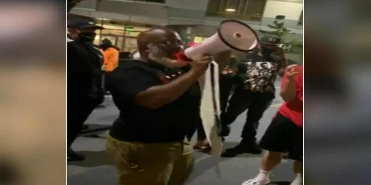 GRAPHIC: Protesters gather outside Pa. police station after knee-to-neck restraint