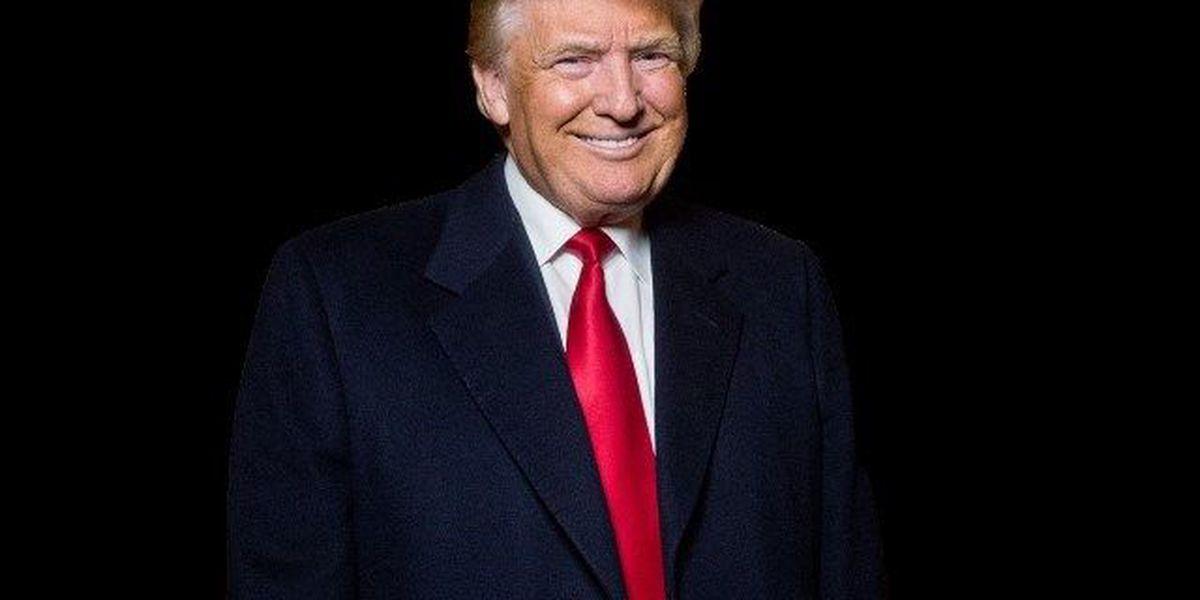 Pres. Trump speaks to Coast Guard Academy graduates