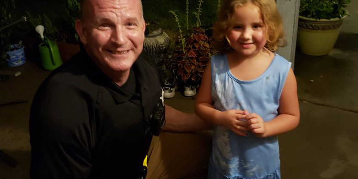 McCracken County Police thank young lady for her kindness